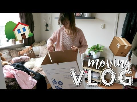 Packing Up & Old Neighbourhood Tour | Moving Vlog #1