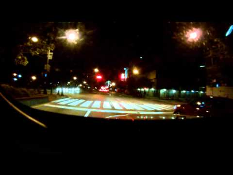 Driving through the holland tunnel