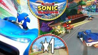 Team Sonic Racing STEAM PC - Introducción del juego y Fases 1-1, 1-2