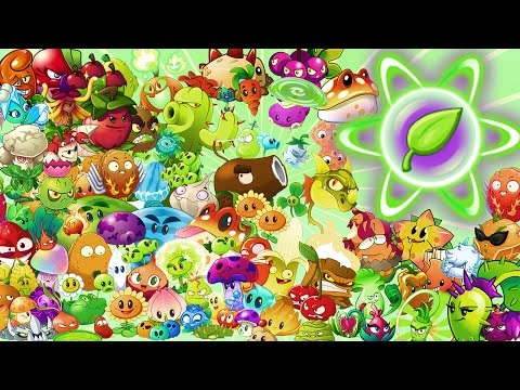 Plants vs Zombies 2 ALL PLANTS MAX LEVEL POWER-UP!