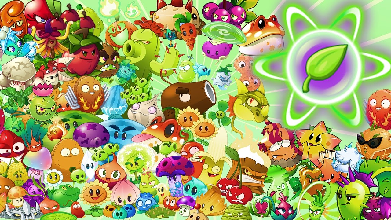 Plants vs Zombies 2 ALL PLANTS MAX LEVEL POWER-UP! - YouTube