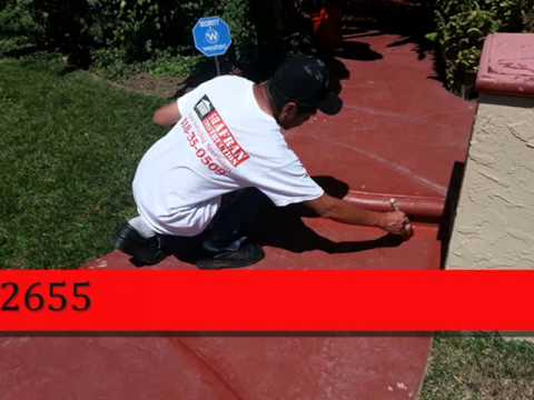 North Los Angeles Cement Stain call Shafran 818 485 2655