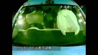 Vehicule Crash Test 2010 - 20__ Toyota Passo _ Daihatsu Boon _ Sirion Full Frontal)...