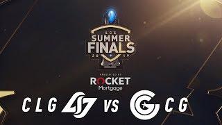 CLG vs CG | 3rd Place Game 1 | LCS Summer Split | Counter Logic Gaming vs. Clutch Gaming (2019)