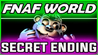 FNAF World CHIPPER ENDING *SECRET* | Chipper's Revenge Boss | FNAF World Ending Gameplay
