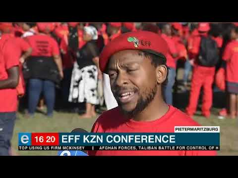 Latest from the EFF KZN elective conference