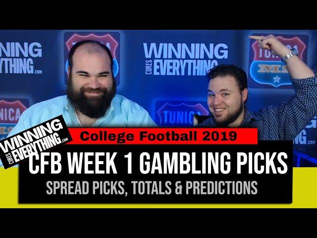 WCE: 2019 College Football Gambling Picks Week 1 (Against the Spread)