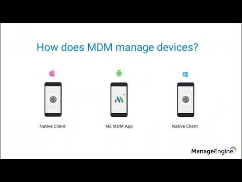 ManageEngine MDM Free Training - App Management and Device