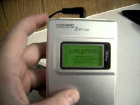 Creative Nomad Zen Micro Windows Vista 32-BIT