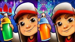 Subway Surfers Android Gameplay - HONG KONG vs MEXICO