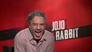 JOJO RABBIT Interviews - Taika Waititi