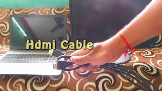How To Connect Laptop with Monitor Using HDMI Cable