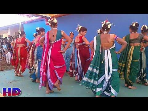 Aadivasi warli Talasari Girls Dance | Navari Saree me aai hu Stage Dance