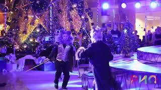 """Новогоднее шоу """"Время Чудес!"""" (Воздушные ремни. Битва Щелкунчика и Мышиного короля ) CinemaCircus"""