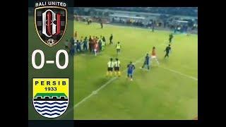 RICUH!!!! PERSIB VS BALI UNITED (0-0) liga1 27/5/2018