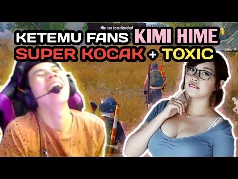 download KETEMU FANS KIMI HIME SUPER KOCAK + TOXIC With ( Okky Ozora, Kenboo) - PUBG MOBILE INDONESIA