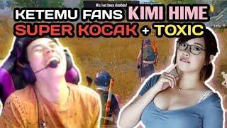 KETEMU FANS KIMI HIME SUPER KOCAK + TOXIC With ( Okky Ozora, Kenboo) - PUBG MOBILE INDONESIA