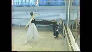 Svetlana Zakharova 1997 (18y) - Class Rehearsal - Performance - Interview