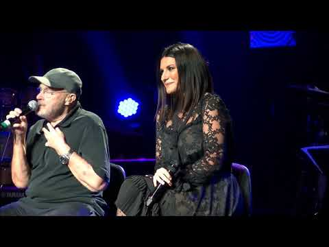 """Phil Collins and Laura Pausini Live duet """"Separate Lives"""" December 9, 2017"""