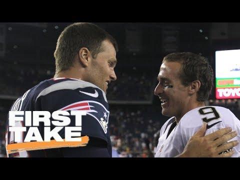 Tom Brady or Drew Brees: Who will play longer? | First Take | ESPN