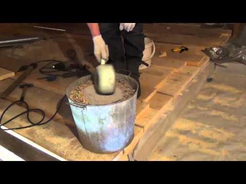 видео: Как утеплить потолок  в бане!