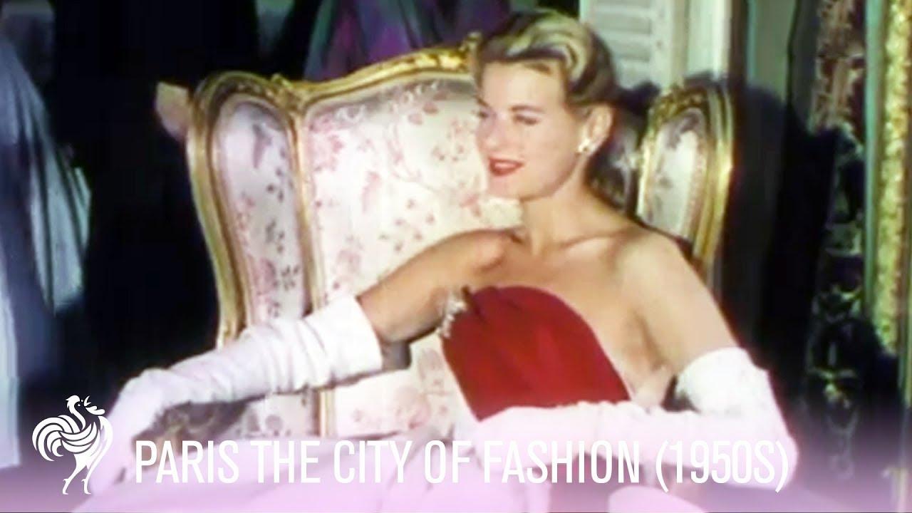 París, la ciudad de la moda (años 50). Documental