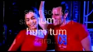 Sanson Ko Sanson Mein Dhalne Do-Instrumental Karaoke & Lyrics-Hum Tum