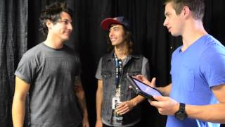 THIS or THAT w/ PIERCE THE VEIL (Vic Fuentes + Jaime Preciado)