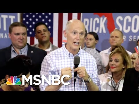 Rick Scott Again Claims Fraud In The Florida Race | Morning Joe | MSNBC