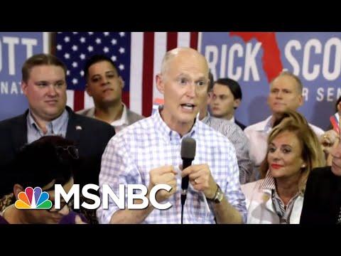 Rick Scott Again Claims Fraud In The Florida Race | Morning Joe | MSNBC