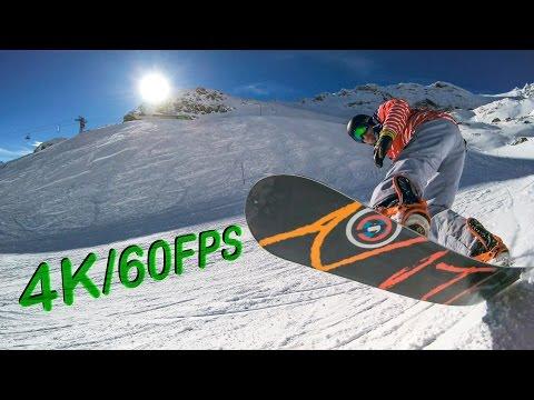 4K/60FPS Snowboard Edit St. Moritz - YI 4K+ World's First 4K/60FPS Action Camera