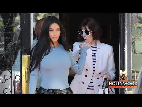 Kim Kardashian Treats Her Grandma MJ To Lunch