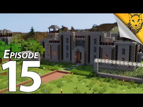 Eli's Kingdom: Episode 15 - The PRISON! [Villager Trading Hall]