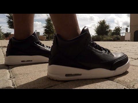 88affe5b8ce8 Air Jordan Retro 3 Cyber Monday on Feet Review - YouTube