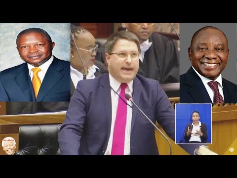 Comedy AND Chaos - DD Mabuza Can Fire Ramaphosa