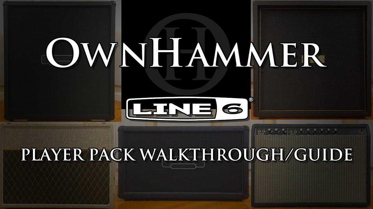 OwnHammer Player Packs - Line 6