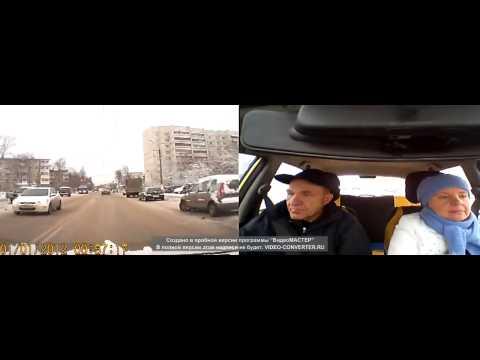 ДТП 27 11 2013 с участием автомобиля автошколы Перекресток, город Тверь 27 11 13 поланая версия