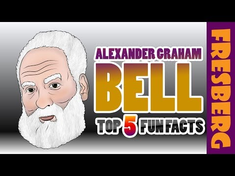 Top 5 Fun Facts about Alexander Graham Bell (Biography) | Educational Videos for Students