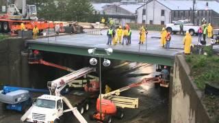 NJDOT Accelerated Bridge Construction Time-Lapse