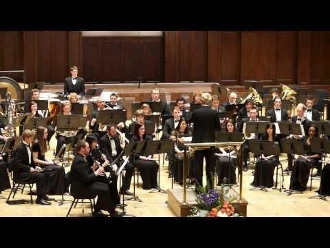 Symphony No 4, David Maslanka, Detroit Symphony Wind Ensemble, 3/6/15