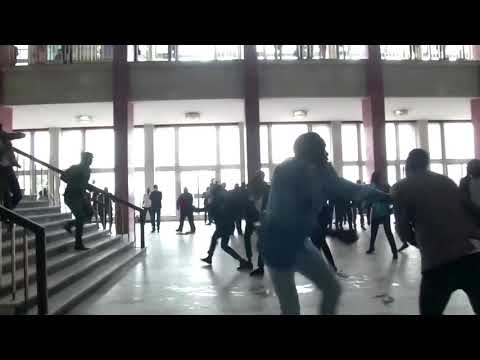 Lawmakers throw chairs in Congo parliament brawl