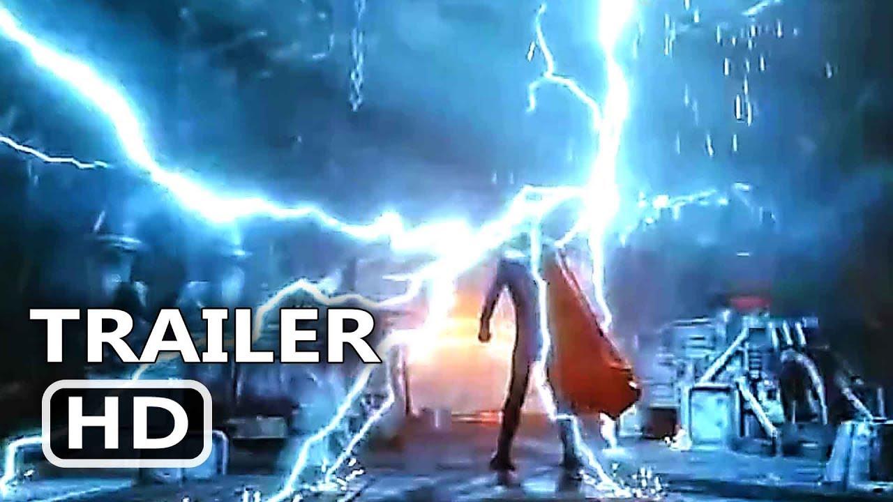 Avengers Infinity War Thor Lightning Strike Trailer New 2018