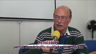 Pavel Nový patron Andělky ON Příbram