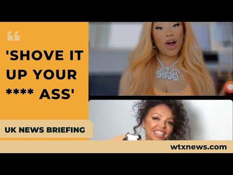 Jesy Nelson 'quit without telling bandmates'- Nicki Minaj on 'blackfishing' row- UK NEWS BRIEFING