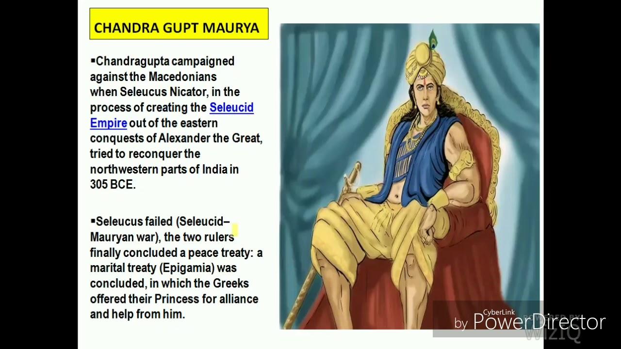 seleucus nicator history in hindi