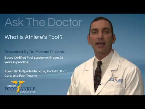 What is Athlete's Foot? Podiatrist – Miami, Pembroke Pines, Hollywood, Coral Gables, Miami Beach, FL