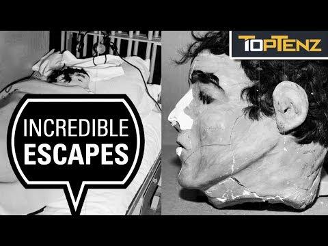 Top 10 Most Incredible Prison Escapes