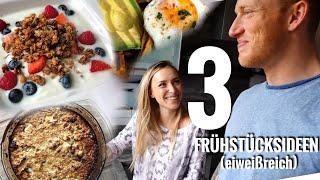 3 FRÜHSTÜCKSIDEEN | Proteinbedarf decken! - Schmale Schulter