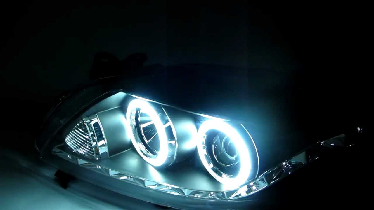 Toyota Corolla 2008 2009 Ccfl Angel Eye Projector