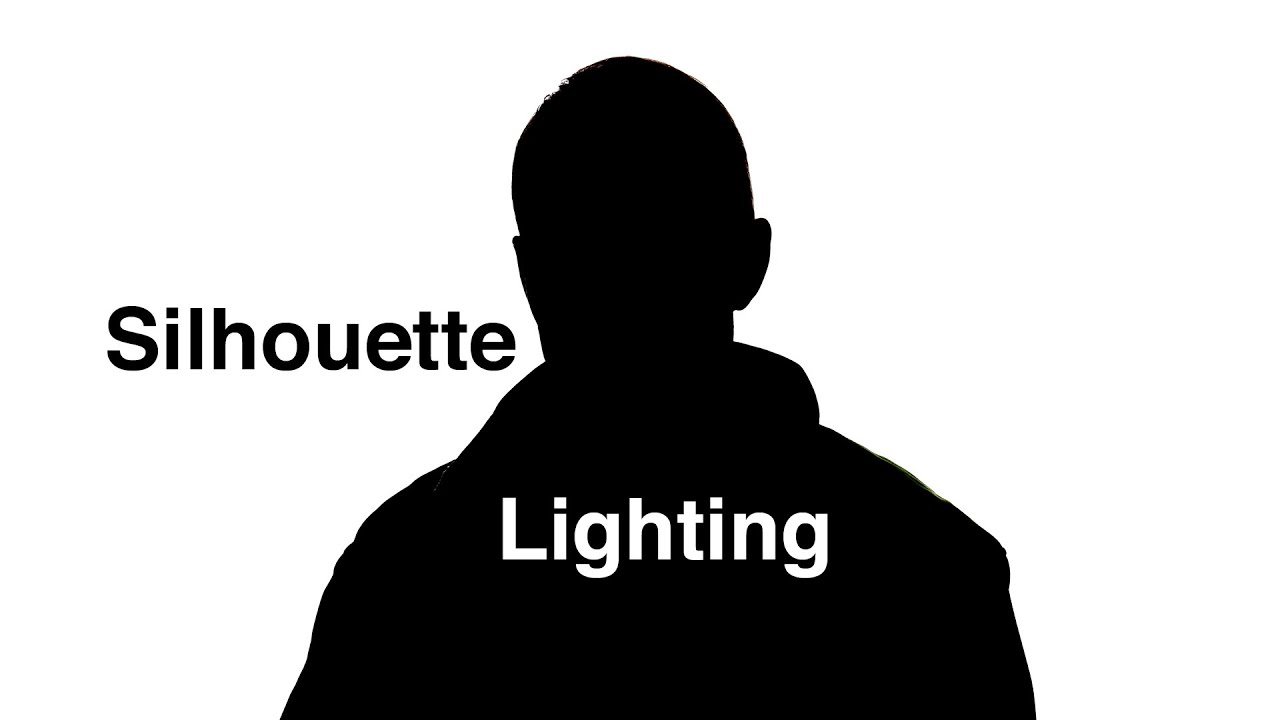 7d11c15d9bf Silhouette Lighting Quick How To - YouTube